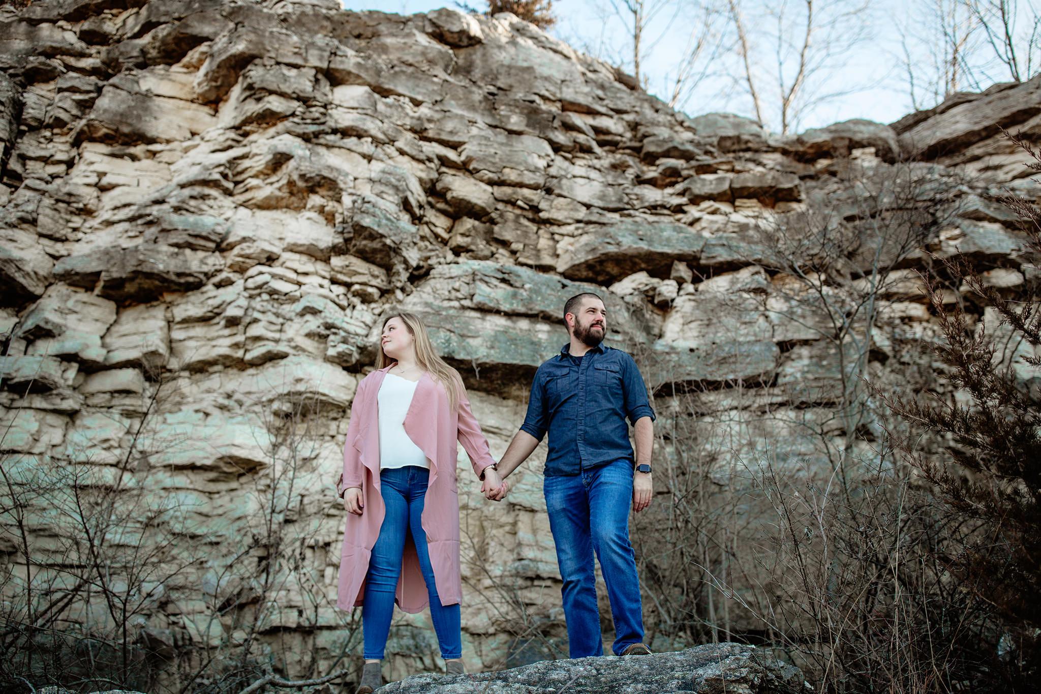 Dayton Ohio Engagement Session Photographer Photography